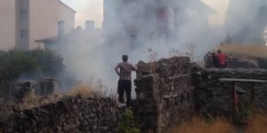 Kars'ta 'Harabe Bina'da Yangın Çıktı