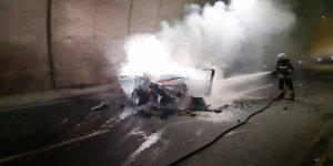 Cankurtaran Tüneli'nde Kaza: 1 Ölü