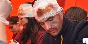 Kars'ta Trafik Kazası Tatbikatı Yapıldı