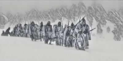 'Sarıkamış Şehitleri' İçin Yürüdüler