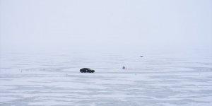Donan Çıldır Gölü'nde Sürüş Eğitimi