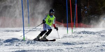 Sarıkamış'ta Alp Disiplini Kayak Yarışları