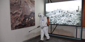 Kars'ta Dezenfekte Çalışmaları Sürüyor