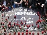 1915 Ermeni Tehciri Taksim&#39de ANILDI