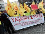 Taksimde 1 Mayısa Yeşil IŞIK