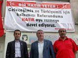 MHP İl Başkanlığı Yeni PANKART ASTI