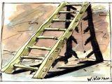 'Baca Merdiveni'nden DÜŞTÜ