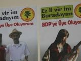 BDPnin Afişleri YASAKLANDI