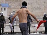 Yunanistan'da Genel Greve KAN BULAŞTI