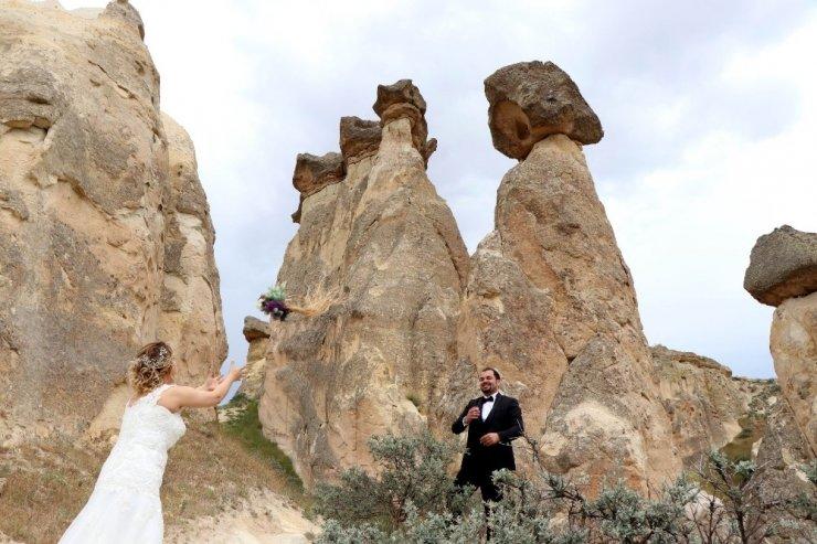 Yeni 'Evli Çiftler'den Kapadokya'ya Akın