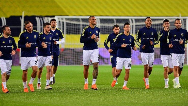 Fenerbahçe, Statta Antrenman Yaptı