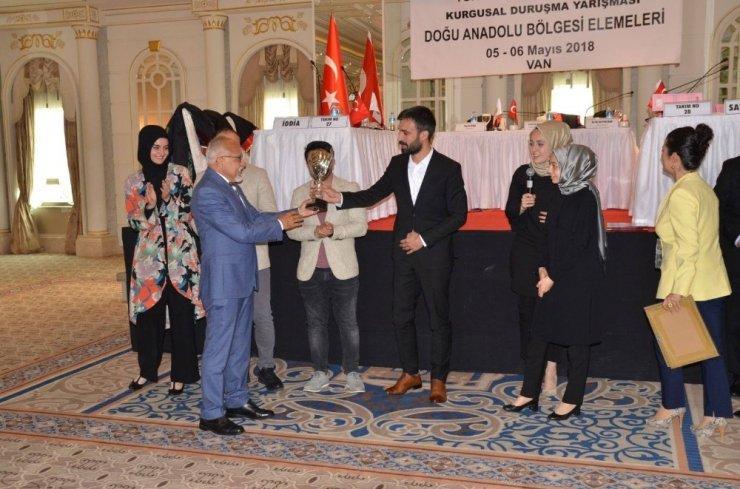'Kars Ardahan Bölge Barosu'na 1'incilik Ödülü