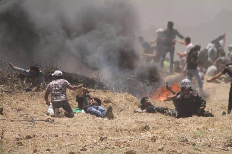 Gazze'de Katliam: 55 Ölü
