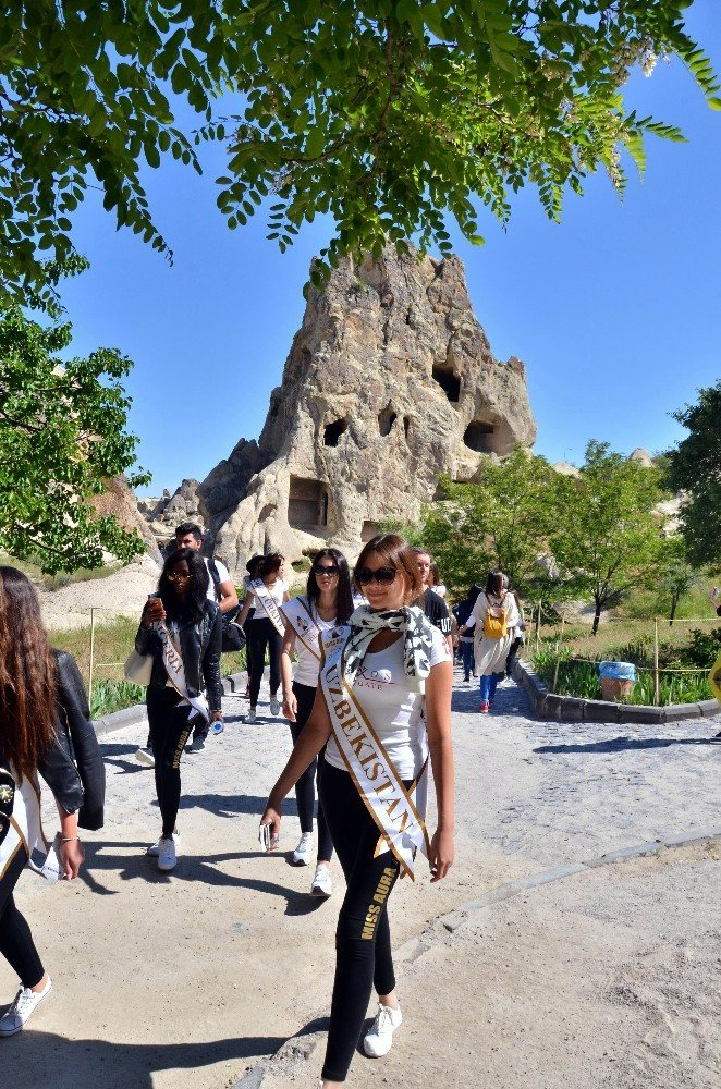 28 Ülkenin Güzelleri Kapadokya'da