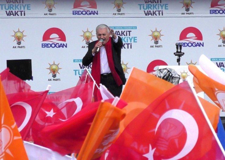 Başbakan Binali Yıldırım Ardahan'da