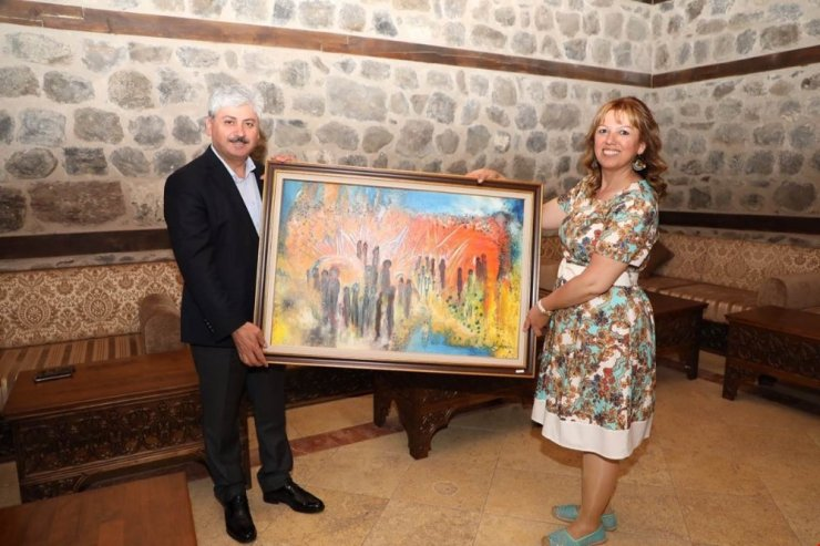 Kars'ta 'Resim Sergisi' Açıldı