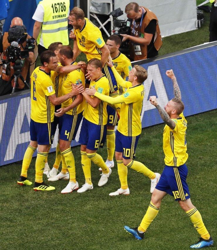 İsveç, G. Kore'yi Tek Golle Geçti