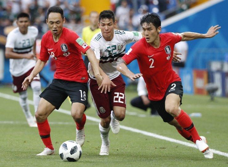 Meksika, Güney Kore'yi 2-1'le Geçti