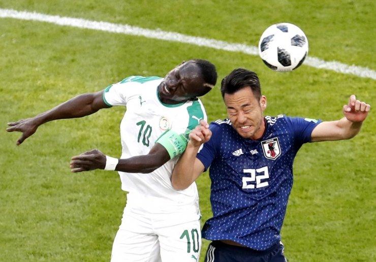 Japonya ile Senegal Yenişemediler