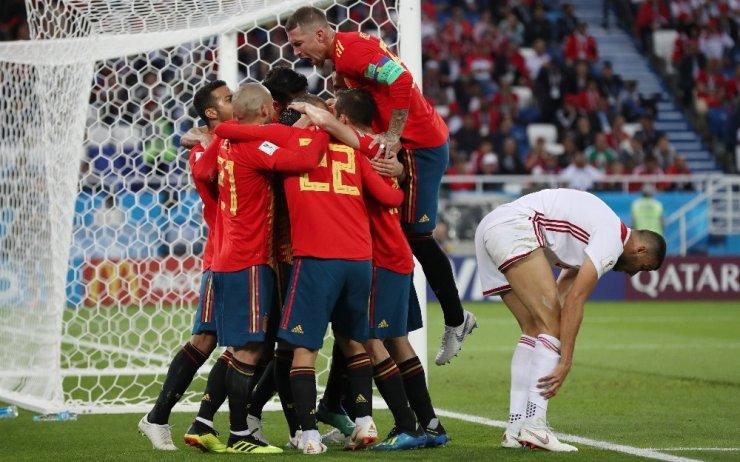 İspanya İle Fas İle 2-2 Berabere Kaldı