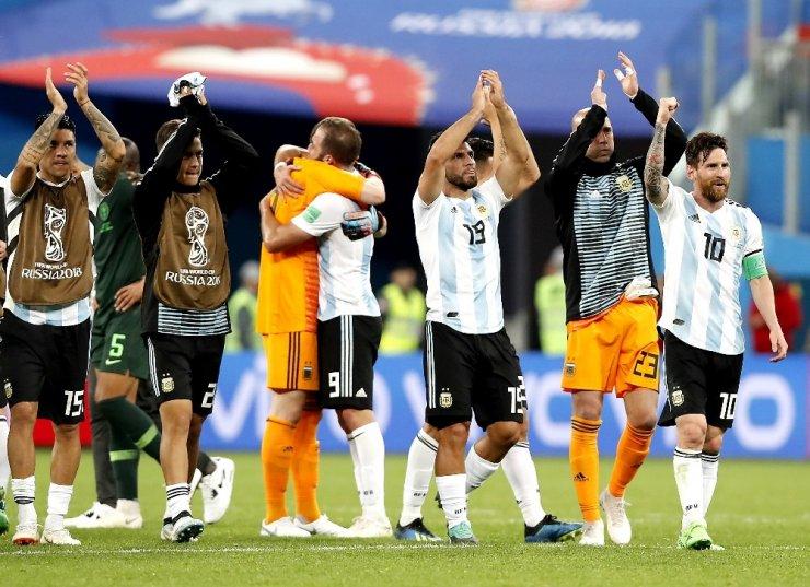 Arjantin, Dünya Kupası'nda Gruptan Çıktı