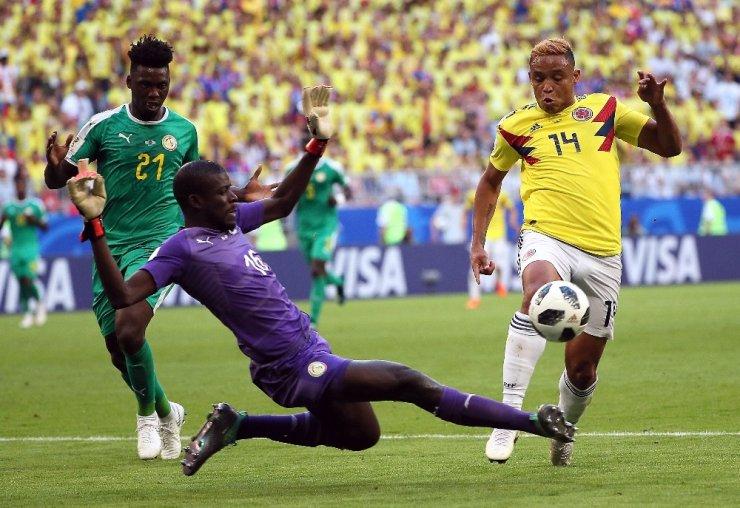 Kolombiya, Senegal'i Yenerek Turladı