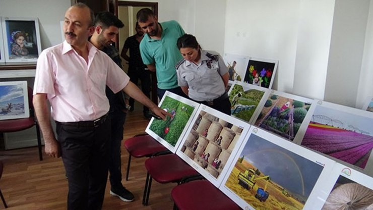 Kars'ta 9. Tarım ve İnsan Fotoğraf Sergisi
