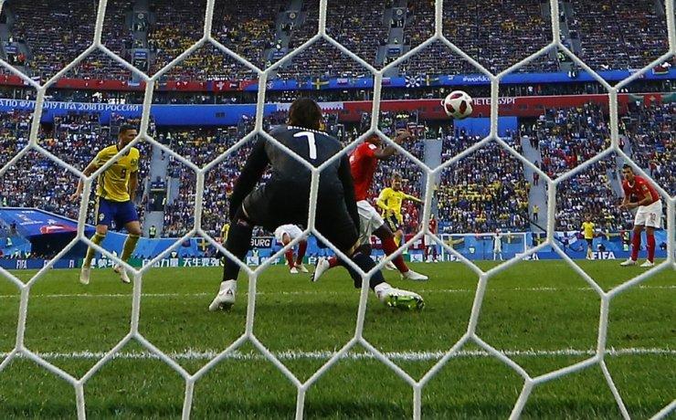 İsveç, Tek Golle Çeyrek Finalde