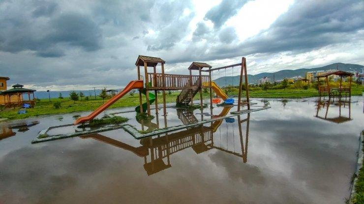 Ardahan'da Yağmur Sonrası Görsel Şölen