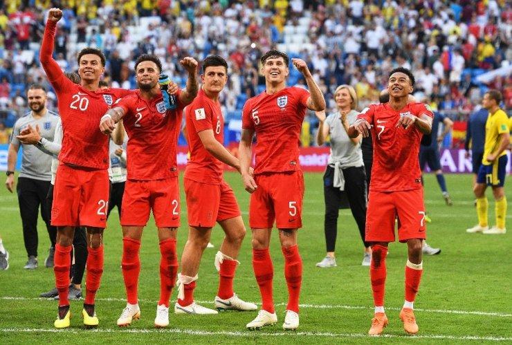 İngiltere, Yarı Finalde