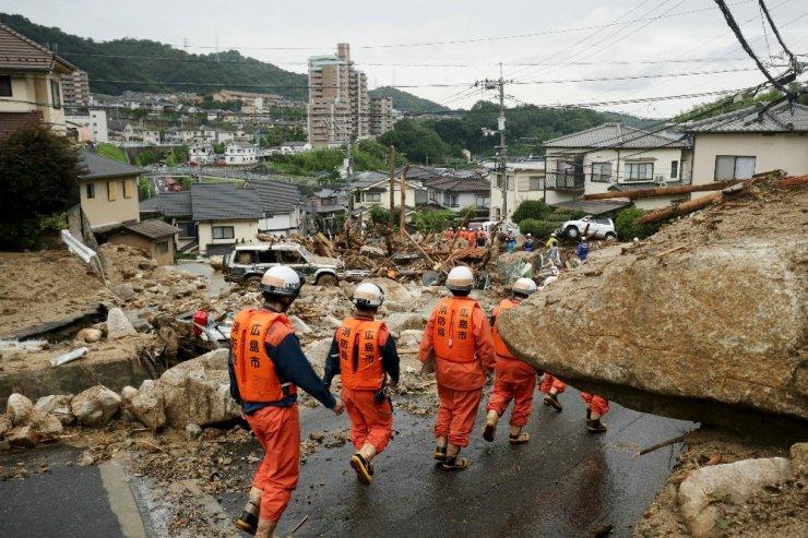 Japonya'daki Sel Felaketi