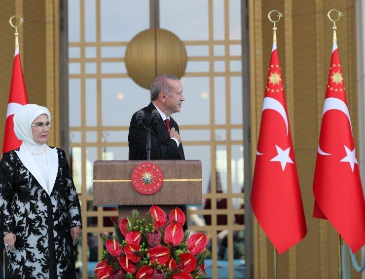 Başkan Erdoğan'dan İlk Konuşma