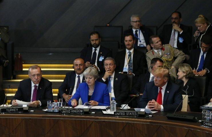 Erdoğan, NATO 'Liderler Zirvesi'nde