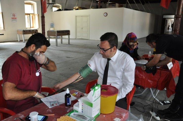 'Çevik Kuvvet'ten 'Kan Bağışı' Kampanyası