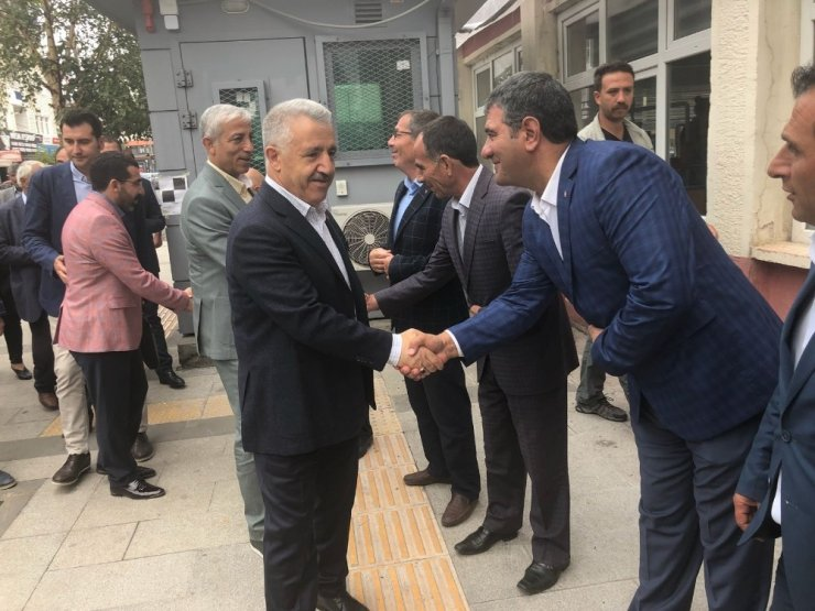 AK Parti'de Bayramlaşma Töreni