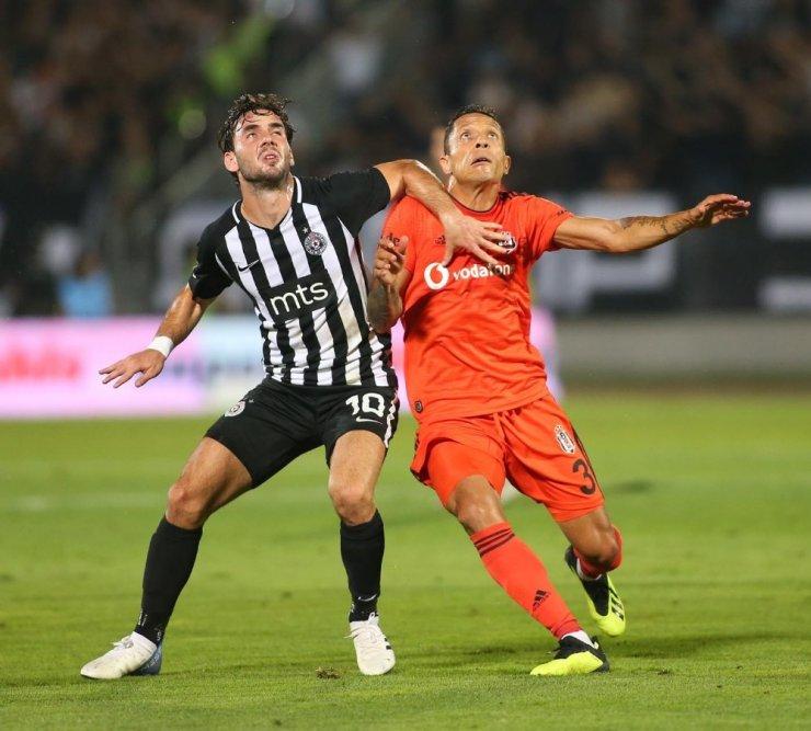 Uefa Avrupa Ligi: Partizan: 1 - Beşiktaş: 1 (Maç Sonucu)