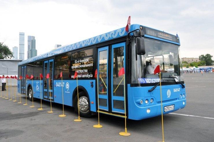 Rusya'da Elektrikli Otobüsler Yollara Çıktı