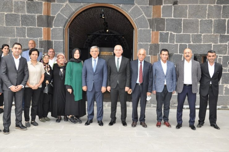 11. Cumhurbaşkanı Abdullah Gül Kars'ta
