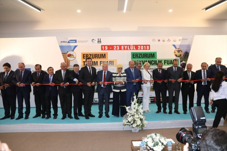 Erzurum Tarım ve Hayvancılık Fuarı Açıldı