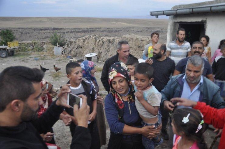 Digor'da Kaybolan Çocuk Bulundu