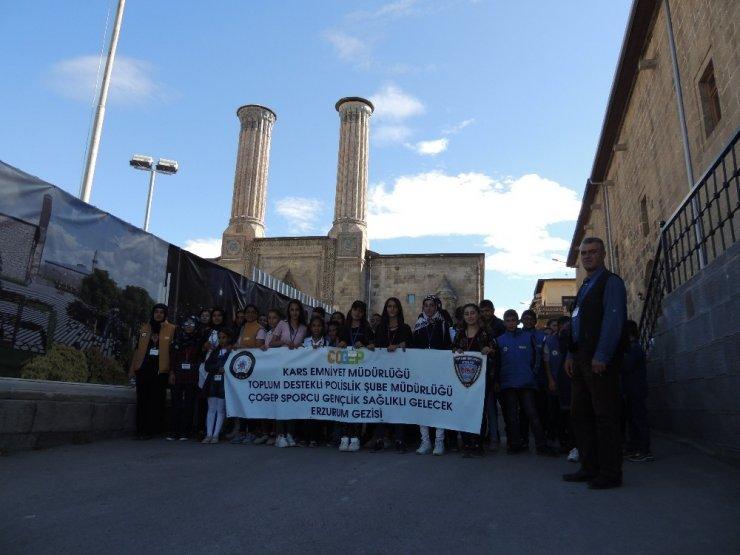 Karslı Öğrenciler Erzurum'u Gezdi