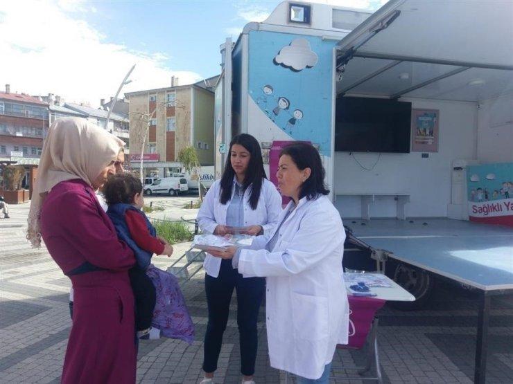 Kars'ta 'Emzirme Haftası' Etkinlikleri