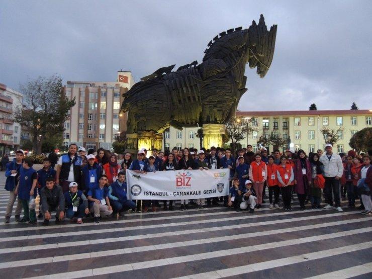 Karslı Öğrenciler İstanbul ve Çanakkale'de