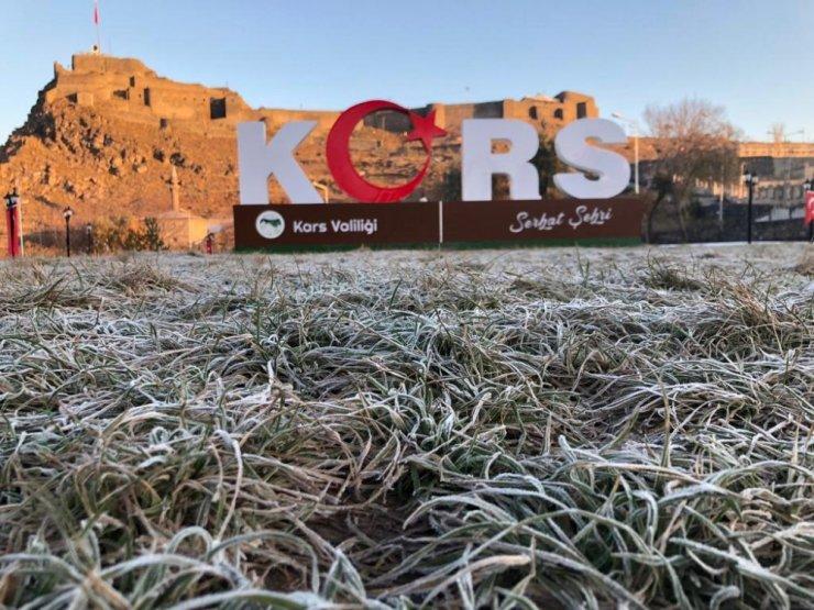Kars'ta Soğuklar Etkili Oluyor