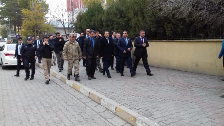 Kars Valisi Türker Öksüz Kağızman'da