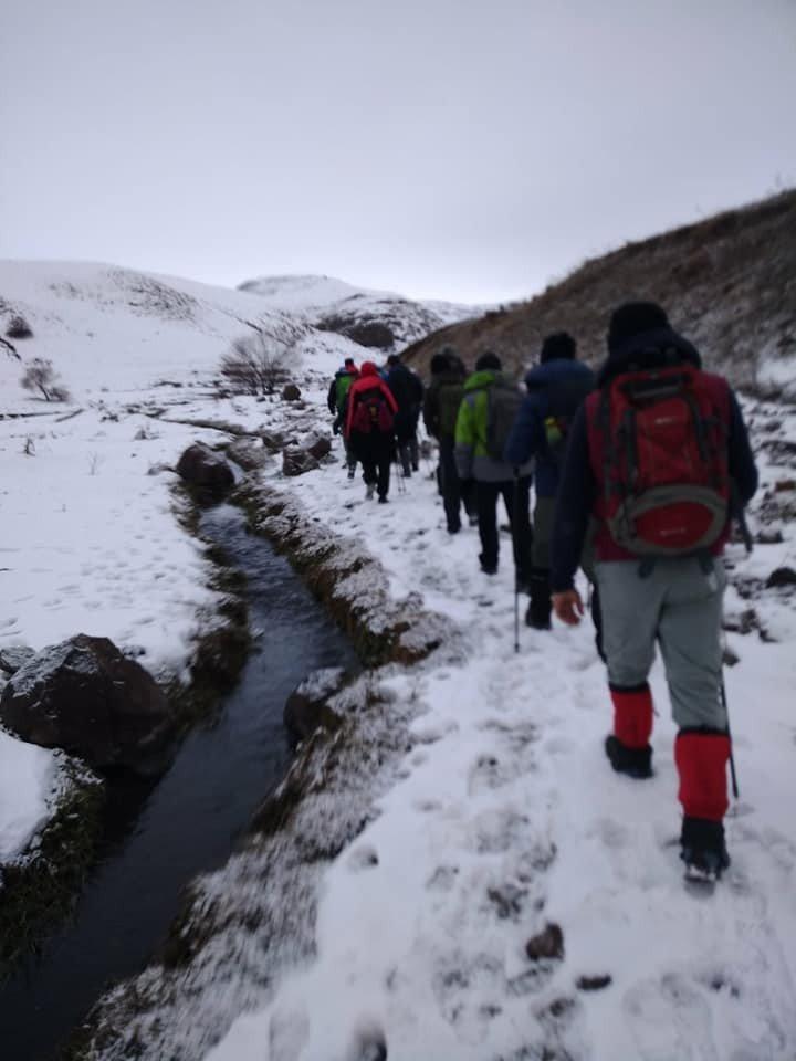 Amatör Dağcılar 'Susuz Kanyonu'nda