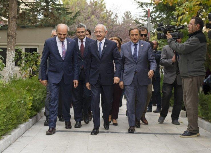 Kılıçdaroğlu'ndan Saadet'e Ziyaret