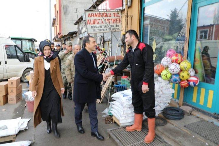 Vali Türker Öksüz, 'Ermenistan Sınırı'nda
