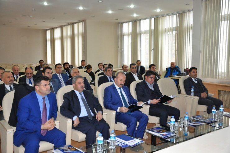 Kamu, Üniversite Sanayi İşbirliği Toplantısı Yapıldı