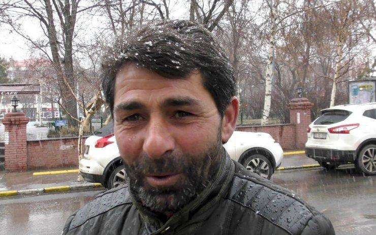 Ardahan'da Kar Yağışı Başladı